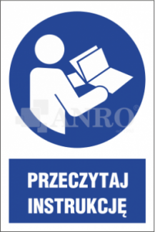 ZNAKI NAKAZU Z PODPISEM WG PN-EN ISO 7010:2012