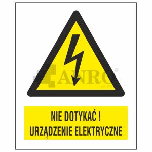 Nie_dotykac_Urzadzenie_elektryczne