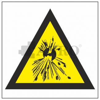 Niebezpieczenstwo_wybuchu_-_Materialy_wybuchowe