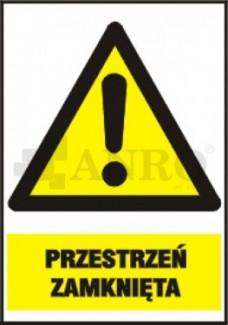 ZNAKI OSTRZEGAWCZE Z PODPISEM PN-93/N-01256/03