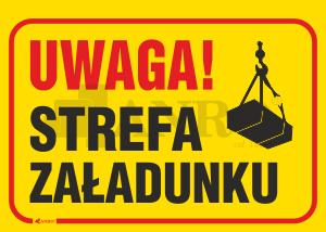 Uwaga_Strefa_zaladunku