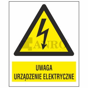 Uwaga_urzadzenie_elektryczne