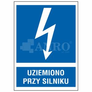 Uziemiono_przy_silniku