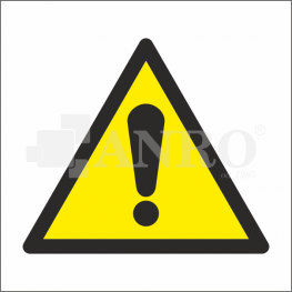 ZNAKI OSTRZEGAWCZE WG PN-EN ISO 7010:2012